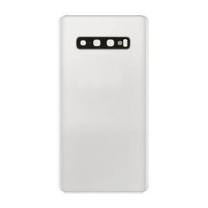 For Samsung Galaxy S10 Plus Back Coverwith Camera Lens White