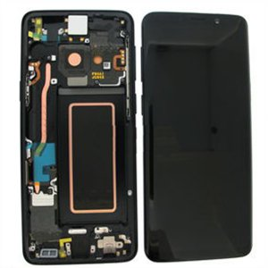 Samsung Galaxy S9 G960F  LCD Screen With Frame Black Ori