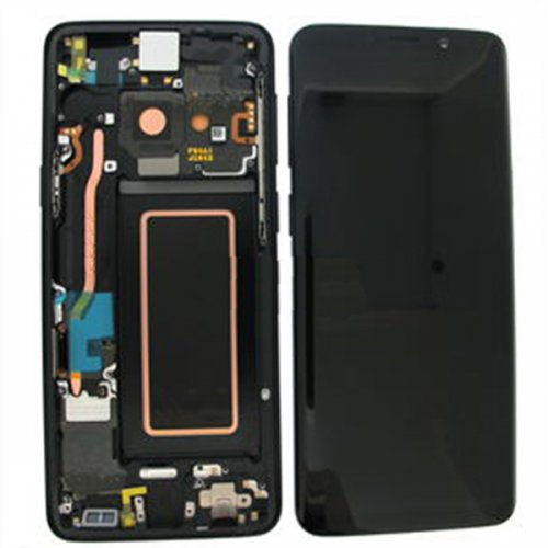 LCD Screen  With Frame for Samsung Galaxy S9 Plus G965F Black
