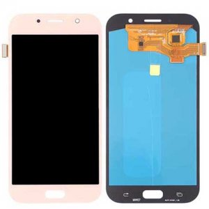 Samsung Galaxy A7 (2017) A720F LCD with Digitizer Assembly Pink Ori