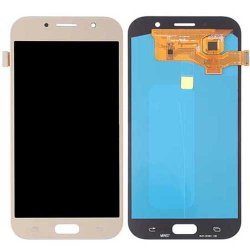 Samsung Galaxy A7 (2017) A720 LCD with Digitizer Assembly Gold OEM