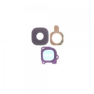 Samsung Galaxy J6 Camera Lens and Bezel Purple Ori