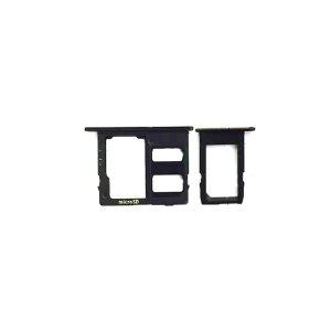 Samsung Galaxy J6 SIM SD Card Tray Black Ori (Single Card Version)