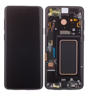 Samsung Galaxy S9 Plus LCD Screen Replacement With Frame G965F Gray