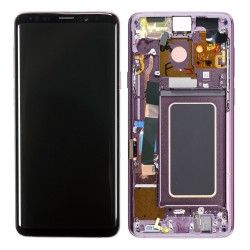 For Samsung Galaxy S9 Plus LCD Screen Replacement With Frame G965F Purple