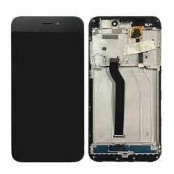 Xiaomi Redmi 5A LCD Screen With Frame Black OEM