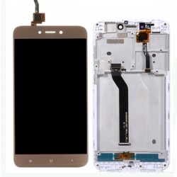 Xiaomi Redmi 5A LCD Screen With Frame Gold OEM