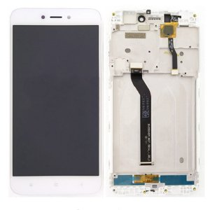 Xiaomi Redmi 5A LCD Screen With Frame White OEM