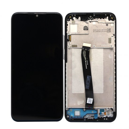 Xiaomi Redmi 7 LCD Screen With Frame Black