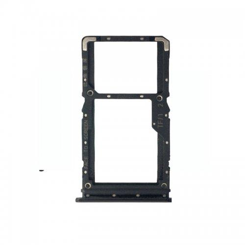 Xiaomi Redmi Note 7 SIM Card Tray Black Ori (Dual Card Version)