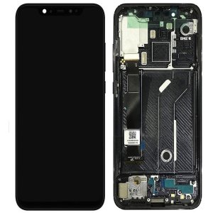Xiaomi Mi 8  LCD Screen Replacement With Frame  Black Ori
