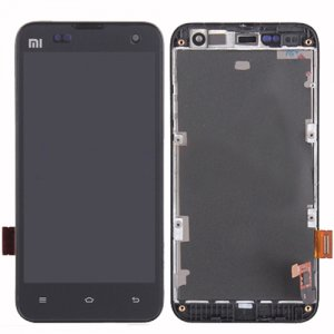 Xiaomi M2 M2S   LCD Screen  with Frame Black