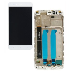 Xiaomi Mi 5X A1  LCD Screen  With Frame White OEM