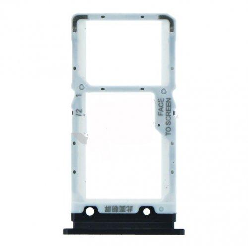 Xiaomi Mi 9 Lite SIM Card Tray Black Ori (Dual Card Version)