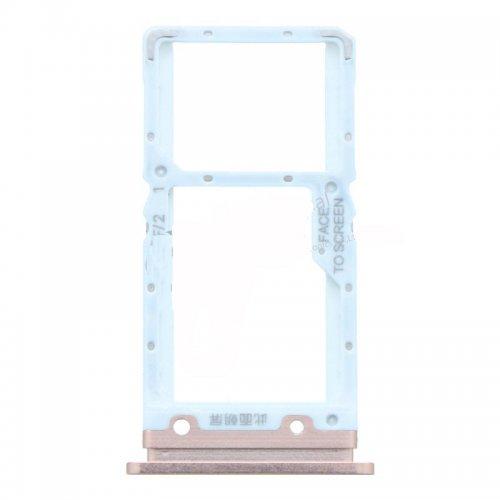 Xiaomi Mi 9 Lite SIM Card Tray Gold Ori (Dual Card Version)