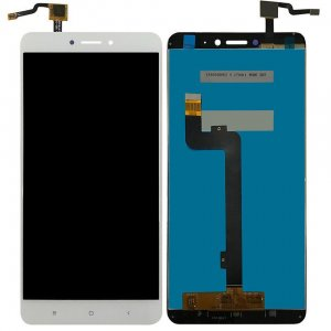 Xiaomi Mi Max 2   LCD with Digitizer Assembly  White Aftermarket