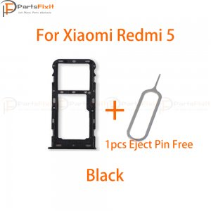 Xiaomi Redmi 5 SIM Card Tray Black