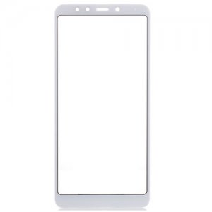 Xiaomi Redmi 5 Front Glass Lens White Aftermarket