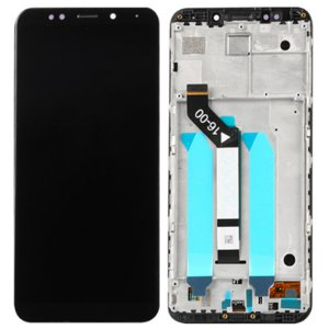 Xiaomi Redmi 5 Plus Screen Replacement With Frame Black OEM