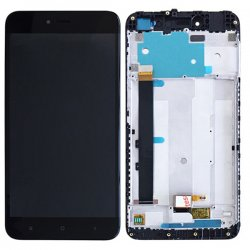Xiaomi Redmi Note 5A LCD Screen With Frame Black OEM