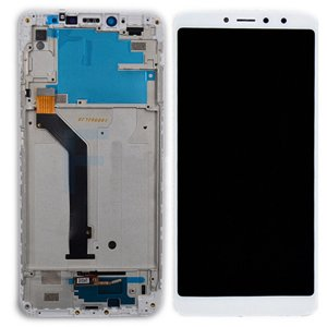 Xiaomi Redmi S2 (Redmi Y2)  LCD Screen  With Frame White Ori