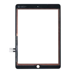 For iPad 9.7 2018 Touch Digitizer Black Original Material