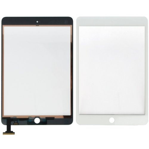 Original White Digitizer Touch Screen Assembly without IC Connector  Chip for iPad  Mini Mini 2 Retina