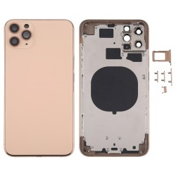 For iPhone 11 Pro Max back Housing Cover Gold
