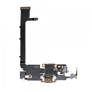 For iPhone 11 Pro Max Charging Port Flex Cable Gold