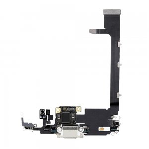For iPhone 11 Pro Max Charging Port Flex Cable White