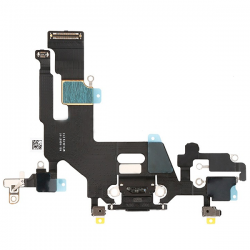 For iPhone 11 Charging Port Flex Cable Black