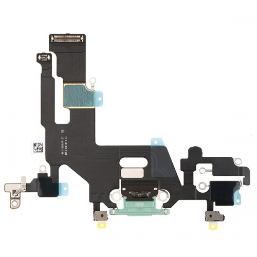 For iPhone 11 Charging Port Flex Cable Green