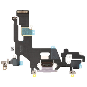 For iPhone 11 Charging Port Flex Cable Purple