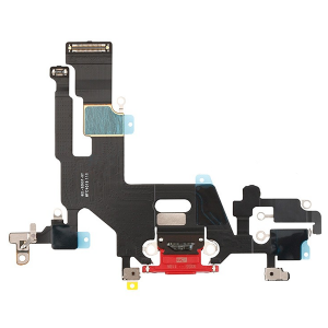 For iPhone 11 Charging Port Flex Cable Red