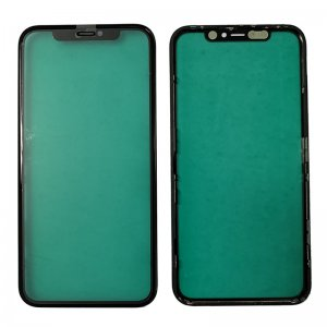 For iPhone 11 Front Glass with Frame