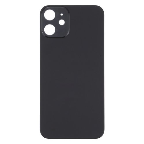 For iPhone 12 Back Glass Black