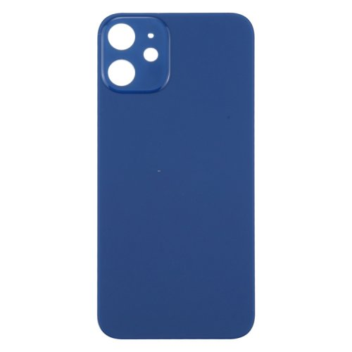 For iPhone 12 Back Glass Blue