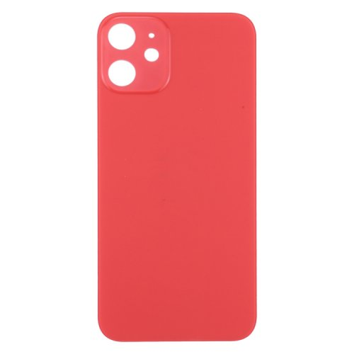 For iPhone 12 Back Glass Red