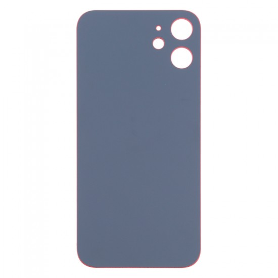 For iPhone 12 Mini Back Glass Red