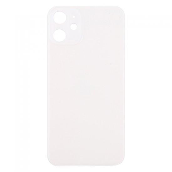 For iPhone 12 Mini Back Glass White