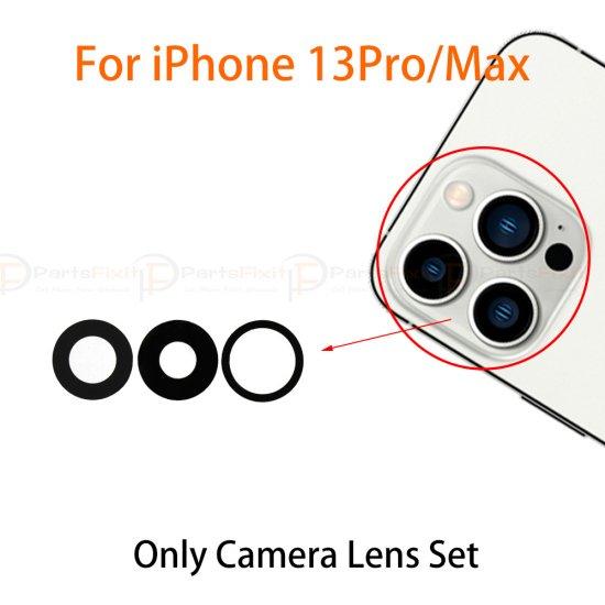 For iPhone 13 Pro/ 13 Pro Max Back Camera Lens Original 3pcs/set