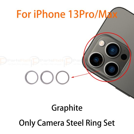 For iPhone 13 Pro/ 13 Pro Max Back Camera Lens Ring