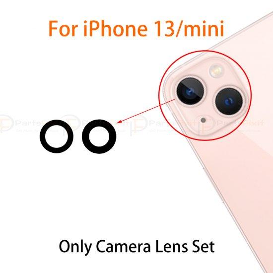 For iPhone 13/13 Mini Back Camera Lens Original 2pcs/set