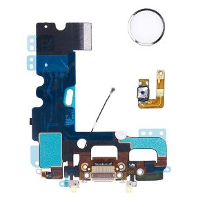 For iPhone 7 Plus Charging Port Flex Cable With Home Button Return Solution