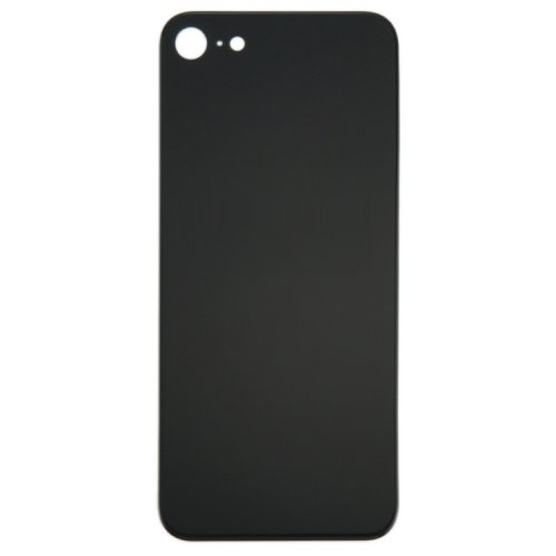For iPhone 8 Back Glass Black