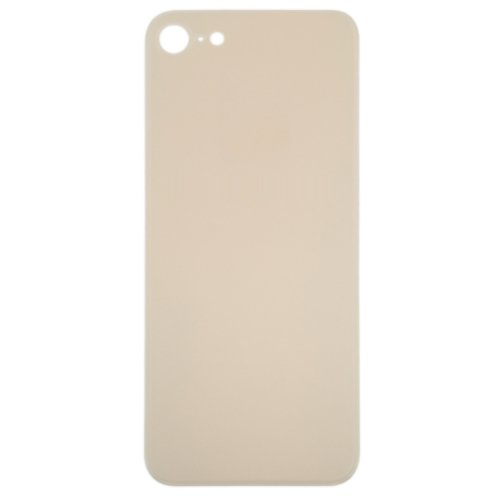 For iPhone 8 Back Glass Gold