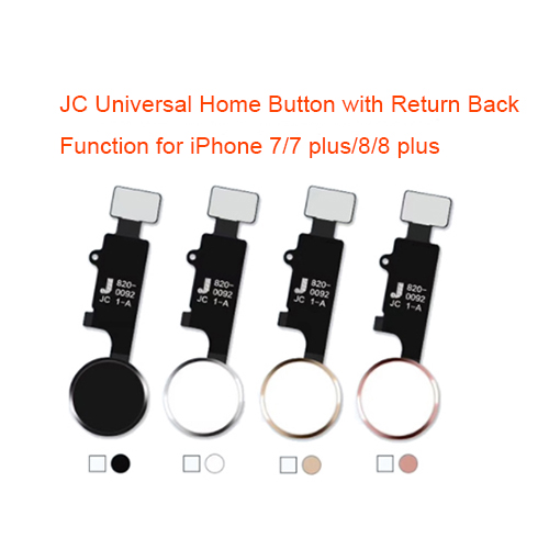 JC Universal Home Button with Return Back Function for iPhone 7/7 plus/8/8 plus