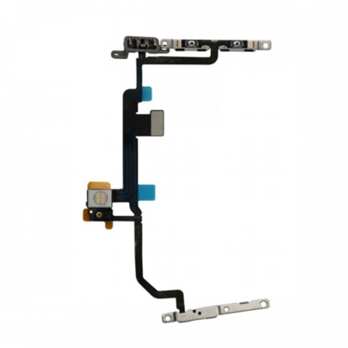 For iPhone 8 PlusPower Button and Volume Button Flex Cable with Metal Plate