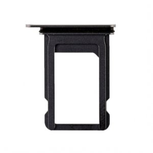 For iPhone X Sim Card Tray Black