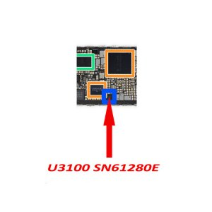 For iPhone X U3100 Camera VDD Boost IC